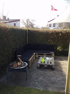 Palet lounge garden furniture
