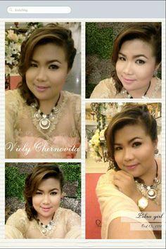 Make up by : Reeza ! So pretty.. I Love it.. !!