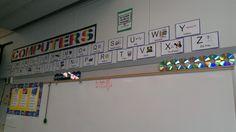Alphabet strip found on Elementary Tech Teachers website.