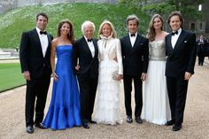 The Lauren clan at Windsor. Ralph Lauren Honored by Royal Marsden Cancer Charity at Windsor Castle
