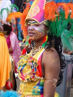 Carnaval Fort-de-France Martinique.  Photo by Nawal.