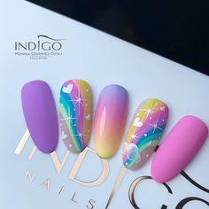 Perfect Nails, Gorgeous Nails, Pretty Nails, Vip Nails, Cute Gel Nails, Nail Art Wheel, New Nail Art Design, Nail Mania, Nail Art Designs Videos