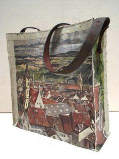 Image of Painting Bag - Village