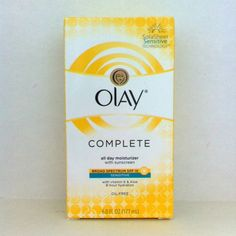 Olay Complete All Day UV Moisturizer SPF 15 Sensitive Skin #Olay