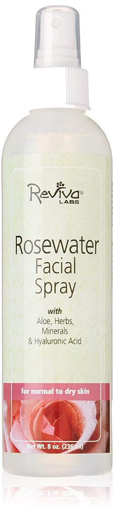 Reviva Labs Rosewater Facial Spray, 8 Ounce *** See this great product. (Note:Amazon affiliate link)