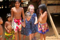 Taking kids to visit an Embera Indian Village in Panama. Things to do in Panama with kids.