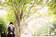 芝生で遊ぶ2人*前撮り  *ウェディングフォト elle pupa blog* Ameba (アメーバ)