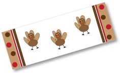 Free printable turkey candy bar wrapper - perfect for Thanksgiving gifts and treats!