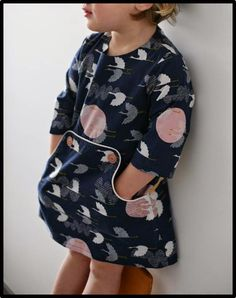 Made by Petrol & Mint Louisa dress - Compagnie M Cloud9 - 1000 cranes