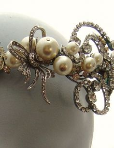 vintage bridal tiara