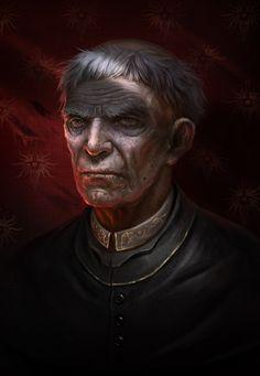 ArtStation - Inquisitor, Denis Zhbankov