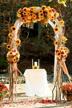 Incredible Ideas For Fall Wedding Decorations ? See more: http://www.weddingforward.com/fall-wedding-decorations/ #weddings