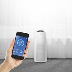 Čistička vzduchu WINIX TOWER Q - Čistenie vzduchu cez mobil?