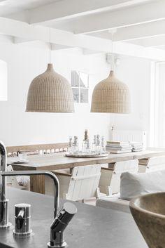 TOUR AROUND MY HOME: THE KITCHEN | THE STYLE FILES / IKEA LERAN LAMP