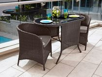hometrends 3 Piece Small Space Bistro Set