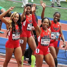 USA 4×400m team