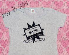 OURS marque Logo Enfants T-shirt-rose-Logoshirt Retro-culte-MARQUE-LAIT