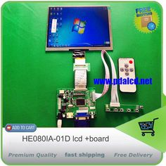 compare prices hdmi vga 2av 50pin ttl lvds controller board moudle8inch 1024768 he080ia 01d lcd #pi #controller