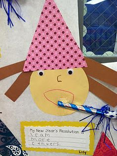 Great new years eve activity 1st grade