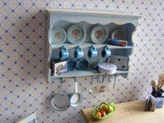 Hey, I found this really awesome Etsy listing at https://www.etsy.com/listing/130532979/dollhouse-miniature-distressed-kitchen