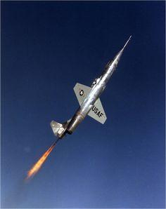 Lockheed NF-104 aerospace trainer