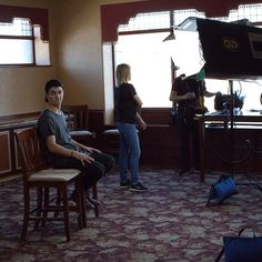 More #bts of #thenextsteplive the movie with @trevorflanny