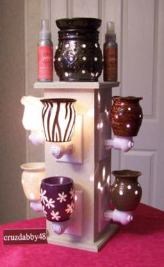 NINE Display Tower for Scentsy Plug In Warmer    Https://Kassandrabosley.scentsy.us