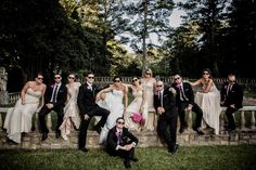 Jason Jarvis Photography - Virginia Photographers - Wedding day bridal party photography