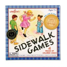 Sidewalk Games - Classic outdoor fun, hours of active play.