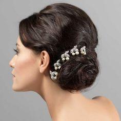 Pearls of Elegance Hair Combs