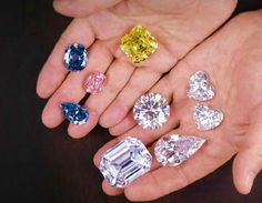 "Laurence Graff---the self-styled ""King of Diamonds"" holds his most famous rocks."