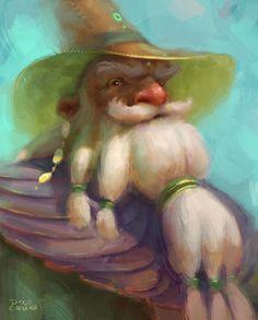 Bento, the Brazilian wizard, Diogo Carneiro on ArtStation at https://www.artstation.com/artwork/o62OB