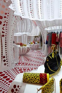 YAYOI KUSAMA FOR LOUIS VUITTON TAKOVER AT SELFRIDGES, LONDON