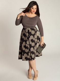 Modest, Feminine Dressing for the Plus Size Woman