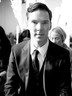 Benedict Cumberbatch at NYFW, 2014