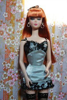 Lingerie 6 Barbie doll silkstone   Flickr