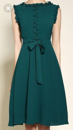 Petrol - Petrol Source by - Modest Dresses, Simple Dresses, Elegant Dresses, Pretty Dresses, Beautiful Dresses, Vintage Dresses, Casual Dresses, Chic Dress, Classy Dress