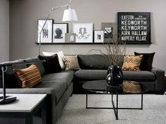 Gray Living Room Inspirations