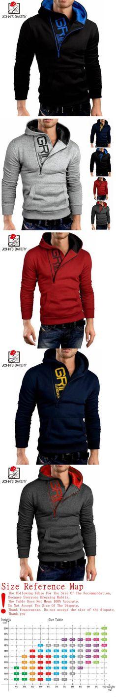2017 New Fashion Hoodies Brand Men Letter Printing Sweatshirt Malemen'S Sportswear Hoody Hip Hop Autumn Winter Hoodie M,L,XL,XXL