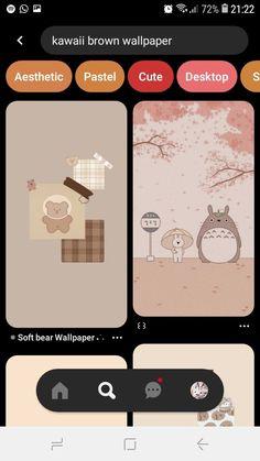 T Wallpaper, Brown Wallpaper, Pastel, Kawaii, Cute, Cake, Crayon Art, Melting Crayons
