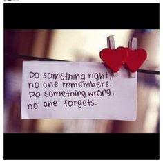 When in doubt, do the right thing, no matter how difficult it may seem. #LiveLoveLearn
