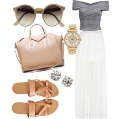 Untitled #112 by mazzo-sofia on Polyvore featuring polyvore fashion style River Island Givenchy Michael Kors Ray-Ban