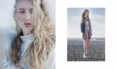 Photographer: Agata Stoinska / Stylist: Tanya Grimson  / Model: Devon Baur / Hair stylist: Joe Hayes / Make-Up: Vivien Pomeroy // AS SEEN ON http://www.maven46.com/editori…/hazy-shade-winter/editorial/