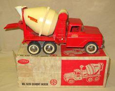 1964 Tonka #620 Cement Truck w/ original Box
