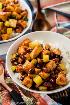 Easy kung pao chicken - a quick version that only requires 20 minutes to prepare. Use this method and you'll always create moist and tender chicken with no fuss!