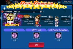 Kingdom Hearts Unchained X boss battle. What happens when you nearly take a raid boss solo and your team realizes you're fighting it last second. :p