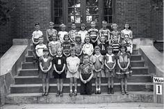 Graves County, Kentucky Books & Photos: May 10 1951 1st Grade, Washington School, Graves County, Kentucky