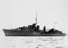 Destroyer HMS Punjabi. Sunk 1 May 1942, rammed by HMS King George V after manouvering across KGVs' bow to avoid a floating mine in thick fog. She was part of a force covering convoy PQ15, including KGV, aircraft carrier HMS Victorious, battleship USS Washington, cruisers USS Wichita and Tuscaloosa and other destroyers.