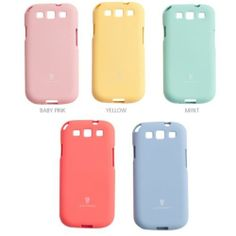 [HAPPY MORI] SHERBET TOPPING Phone Case Cover Skin for Samsung Galaxy s3,s4