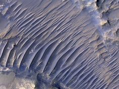 A piece of Mars: Dunes often cannibalize each other, with new dunes forming from…